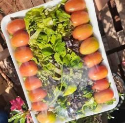 Legumes Cortados e Higienizados