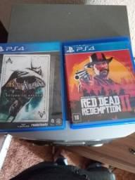 Jogos de vídeo game PS4