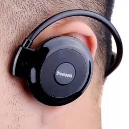 Fone De Ouvido Bluetooth Headset Celular Esporte Corrida