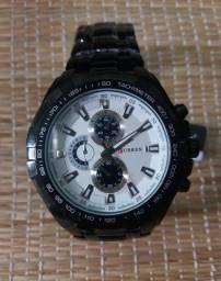 Relógio Masc. Luxo Original marca Curren