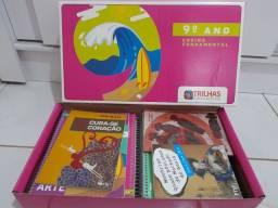Kit de livros TRILHAS do 9°ano
