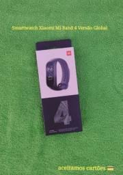Smartwatch Xiaomi Mi Band 4 Versão Global (Aceitamos cartões, até em 4 vezes sem juros.)
