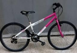 Bicicleta aro 24 e marchas