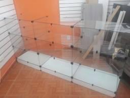 Balcão de vidro