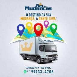 Mudanças em caminhão baú local e todo o Brasil