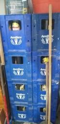 Caixa de vasilhame de cervejas