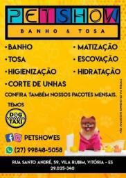 BANHO E TOSA PETSHOW