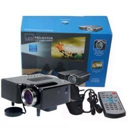 Mini projetor até  60 polegadas 250$