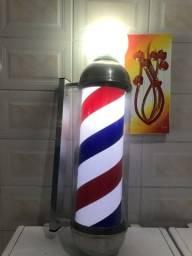 Barber Pole Poste giratório