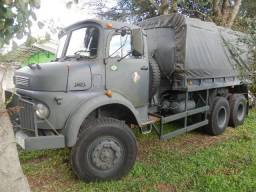 Viatura do exercito mercedes benz 1819 6X6 com reboque ! - 1983