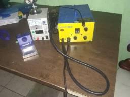 Máquina para consertar celular