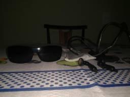 Óculos oakley split thump 2 GB, completo , fone de ouvido e carregador  original fe6d8d5298