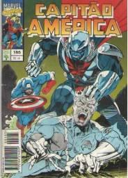 Revista em Quadrinhos Capitão América - Ed. 185 - 84pg - 1994 - Marvel-Abril