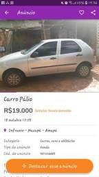 Carro Pálio Ano 2012 - 2012