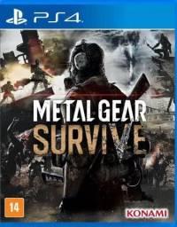 Vendo Jogo Metal Gear Survive para PS4