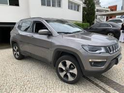 Jeep Compass Longitude 4x4 2017 Completo Diesel - 2017