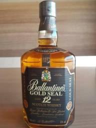 Whisky Ballantine's 12 Anos Gold Seal 1 Litro Original Raro