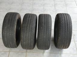 Vende-se 4 pneus usados