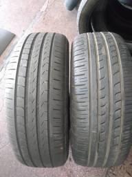 Par pneus Pirelli meia vida 195/55/16 R$ 220,00 par
