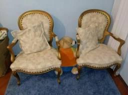 Lindo par de cadeiras estilo Dom José