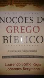 Vendo livro noçoes do Grego Biblico