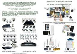 Instalador de Câmeras, Alarmes, Cercas Elétrica , Porteiros Eletrônicos e Elétrico