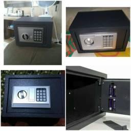 Cofre eletrônico digital com duas Chaves - Novo na caixa lacrado