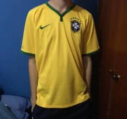 Camisa seleção brasileira copa do mundo 2014 1a71c668f796d