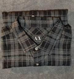 Original  Camisa Armani tamanho large (G) 9500dc242da