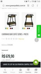 Carrinho coffe break novo