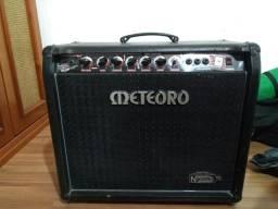 Amplificador Meteoro 100w c/ Reverb e Foot