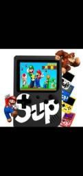 Mini game retrô portátil com 400 jogos