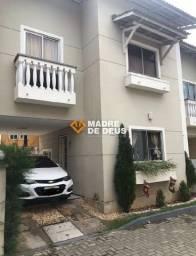 Linda casa duplex na serrinha em condomínio fechado