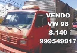Caminhão baú vw 98 8140