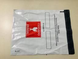Envelope de segurança s/ bolha c/bolsa canguru TAM 26x21 - 100 UNID