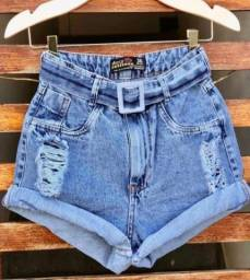 Shortinho jeans