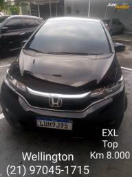 "Fit 1.5 EXL * 2020 * Top + Km 8.000 "" WELLINGTON """