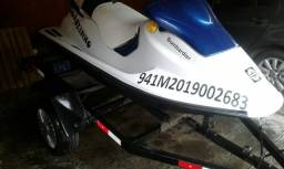 JET SkI sidoo, motor 650 cc R$ 13.000.00. Carretinha ano 2010 - 1995