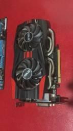 Asus GTX 760 256bits 2gb 1150cuda