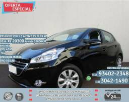 Preto Peugeot 208 1.5 active 8v Flex 4p 2014 R$ 20300 32000Km - 2014