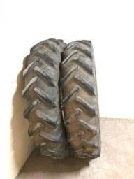 Roda com pneu fino