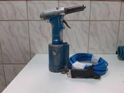 Rebitadeira pneumática com mangueira de ar de silicone é pilota de ar