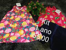 Vendas de roupas novas