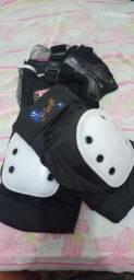 Kit de proteção para patins/skate