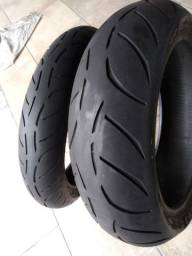 Par pneus 190/55 moto