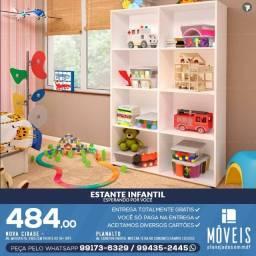 Estante Infantil Brinquedos Entregamos