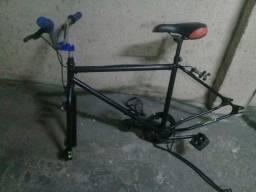 Quadro de bicicleta aro 29 e rodas