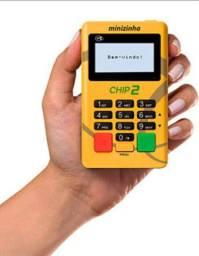 Maquininha de cartão Mizinha Chip 2