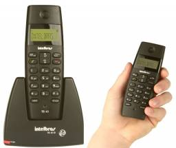 Telefone Intelbras TS 40 ID (sem fio)