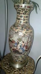 Vaso de porcelana oriental